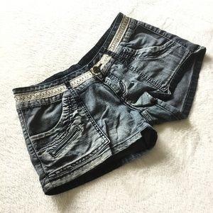 Vogue Jeans blue denim shorts